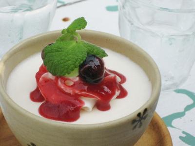 豆乳レアチーズケーキ@comaya