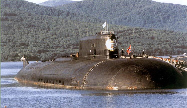 オスカーII級原潜イルクーツクは高度な近代化を実施する   N.G ...