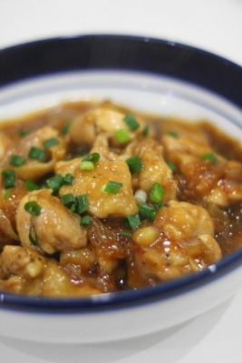 鶏肉と玉ねぎの照り煮