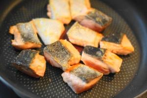 鮭のちゃんちゃん焼き・2