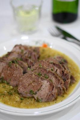 豚肉の白ワイン煮込み