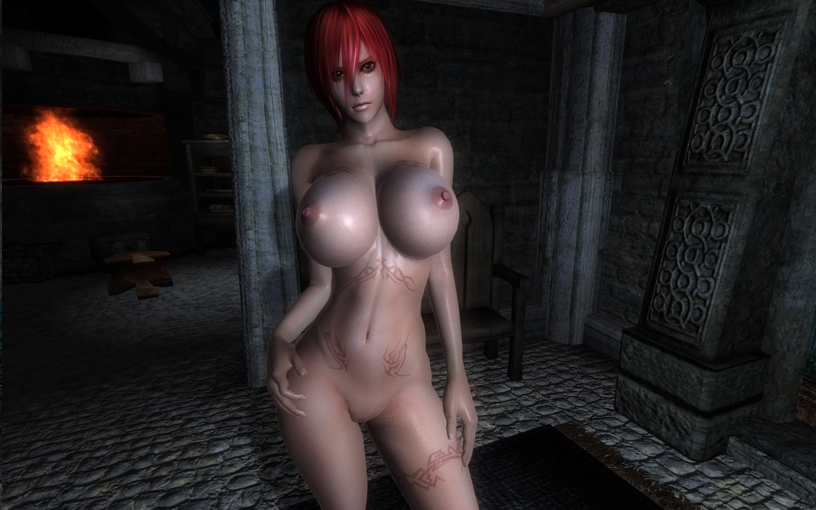 Nude mods for oblivion hentia image