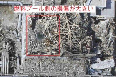 福島第一原発3号機の爆発はミニ核爆発
