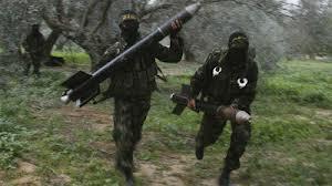 ガザ地区からのロケット弾