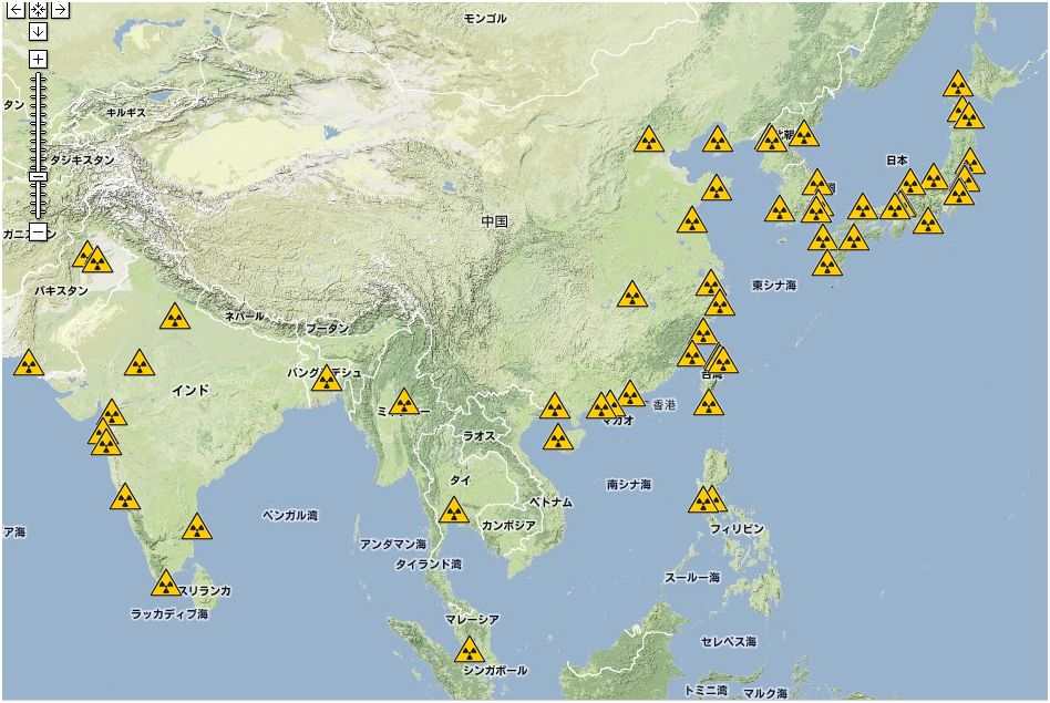 中国 韓国 原子力発電所