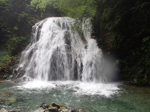 庄九郎の大滝15m
