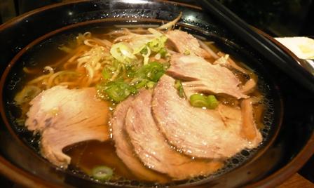 翠園:チャーシュー麺2