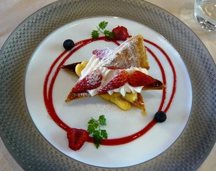 WATANABE:苺のミルフィーユ1