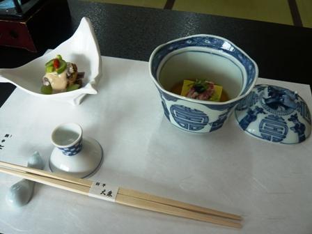 料亭大森:料理1
