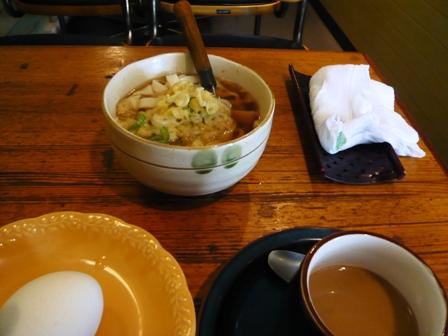 喫茶徳川:モーニングセット2