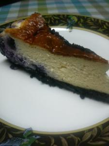 20100920ブルーベリーチーズケーキ