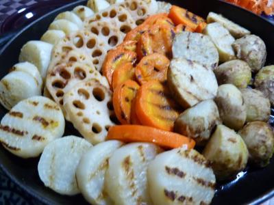 秋野菜のグリル