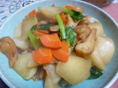 大根と小松菜の炒め煮