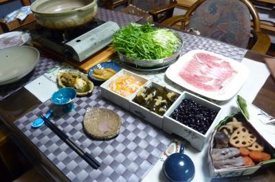 2013年大みそかの夕食