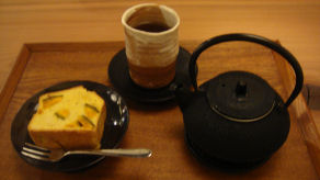 自然茶&かぼちゃスィーツ