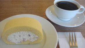 オーガニックメープルナッツロール&オーガニックコーヒー