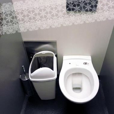 便座なしトイレ
