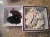 シャングリラ(ゆし豆腐、ゴーヤー味噌、アーサー佃煮)