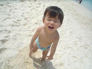 110911_ビーチ砂遊び