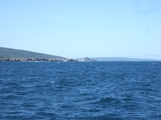 the tip of the cape