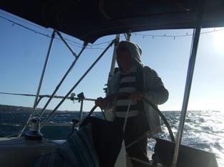 helming skipper
