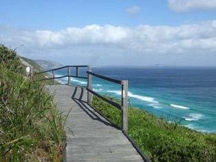 walk by the coast