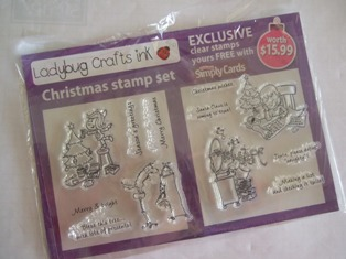 clear stamp set from craft mag
