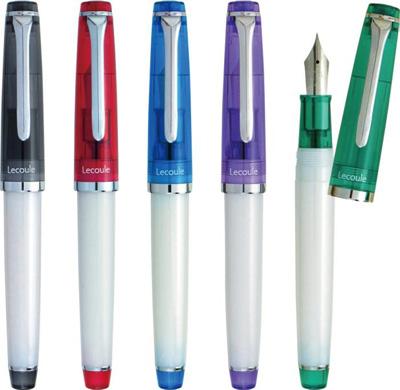レクル万年筆は、5色展開!