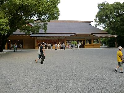 熱田神宮おみくじ&お守り売り場