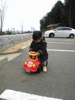 パパと散歩2
