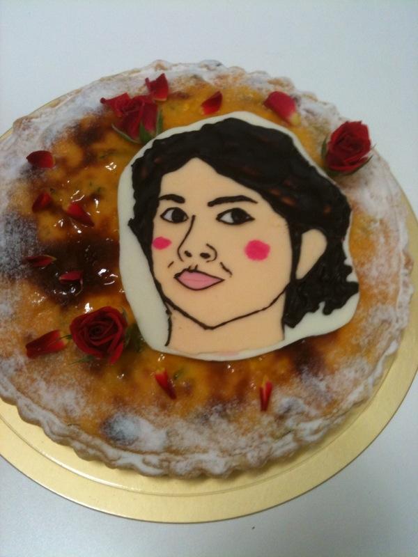 みのっちおつかれケーキ