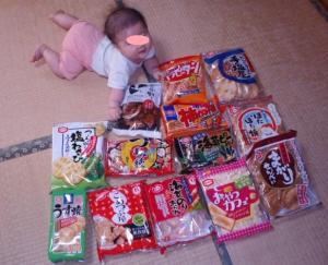 201007亀田製菓の米菓