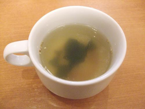 セットのスープ