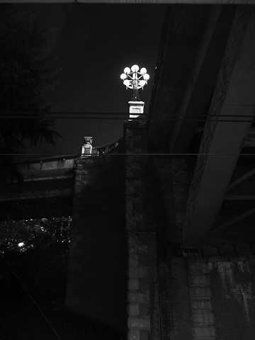 四谷の照明