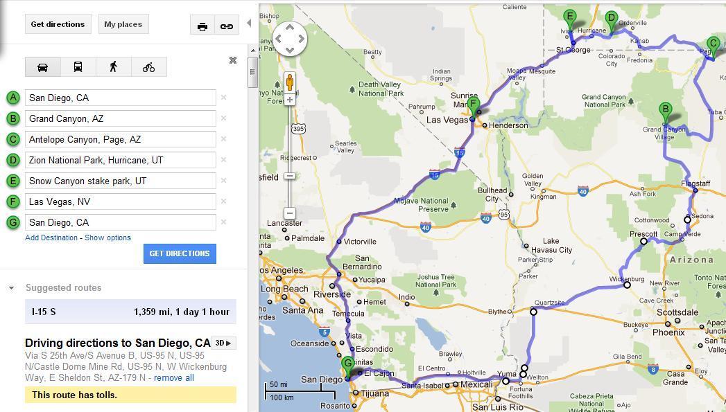 Trip Map 2