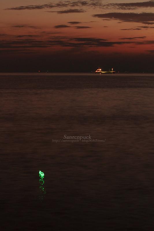 夕景と夜景の狭間。
