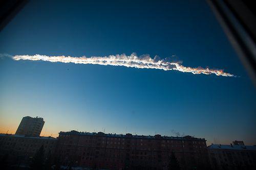 ロシア隕石飛来