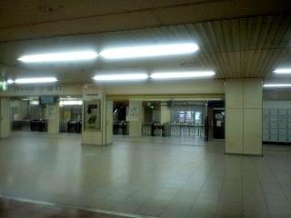 新橋駅構内