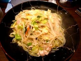 ちゃんぽんふじ(皿うどんその1)
