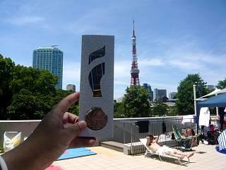 港区水泳大会(銅メダルその2)