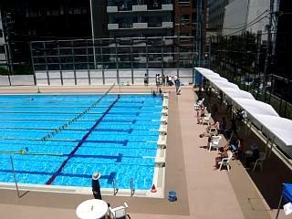 港区水泳大会(プールその3)