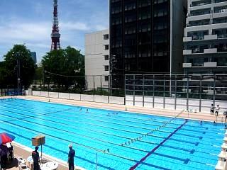 港区水泳大会(プールその4)