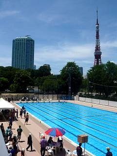 港区水泳大会(プールその5)