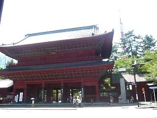 増上寺(正門)