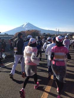 ラン中富士山blog