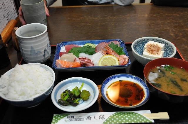DSC_0833 刺身定食 750円