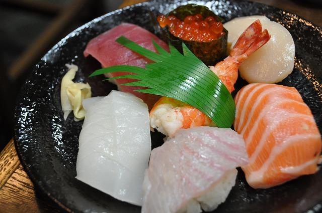 DSC_0851 寿し定食 1,450円の寿司