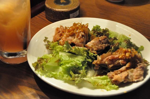 DSC_2028 鶏の唐揚げネギソース