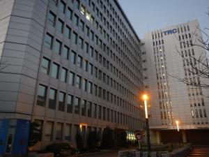 TRCのセンタービル 外観