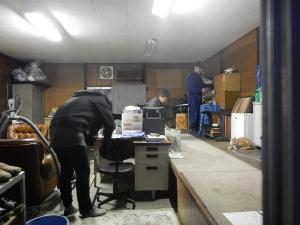 第2回 掃除ボランティア 会長室